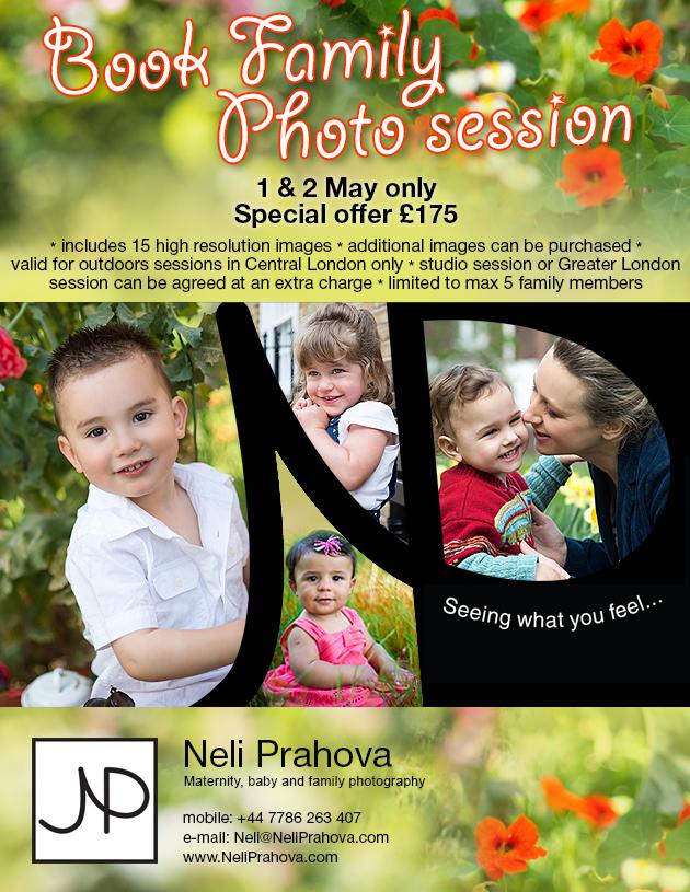 Neli Prahova Photography Spring Promotion